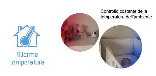 Allarme temperatura