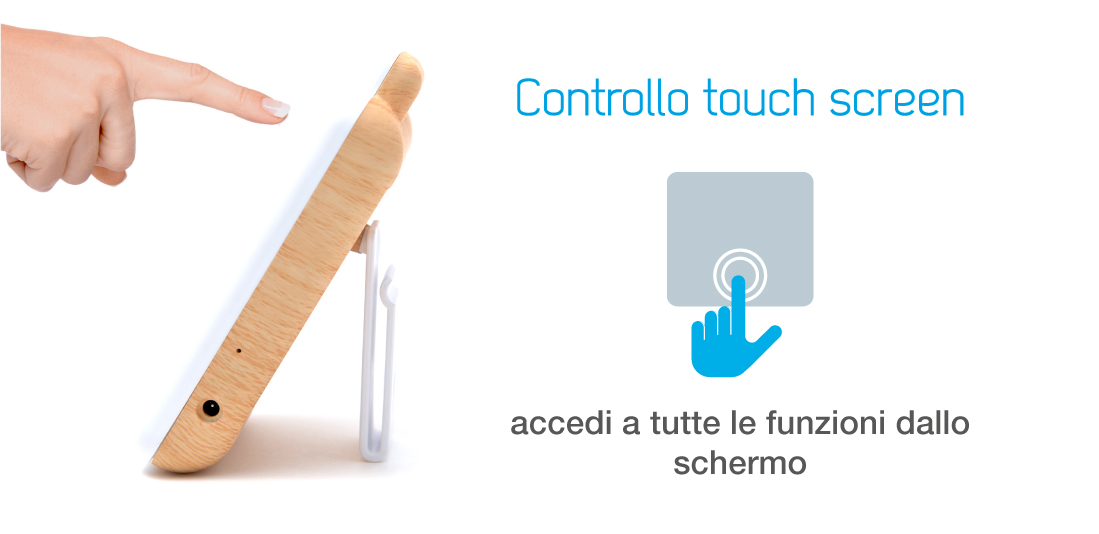 Schermo touch screen LCD da 2,4 pollici