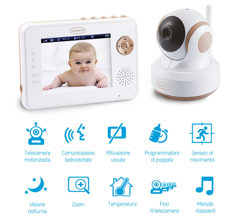 Tecnologie del Availand Follow Baby